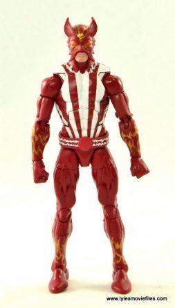 Marvel Legends Sunfire figure review -straight