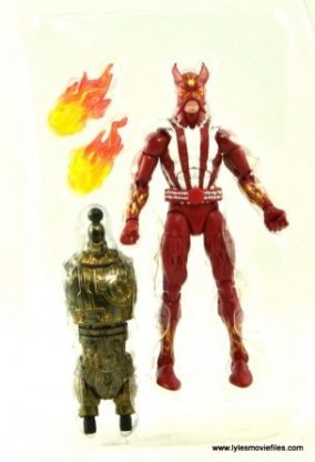 Marvel Legends Sunfire figure review -with accessories