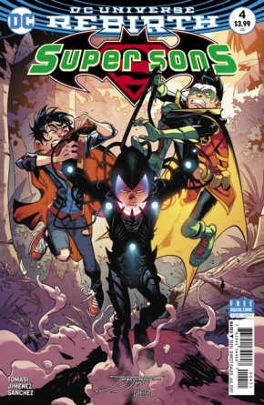 Super Sons #4 cover