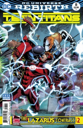 Teen Titans #8 cover