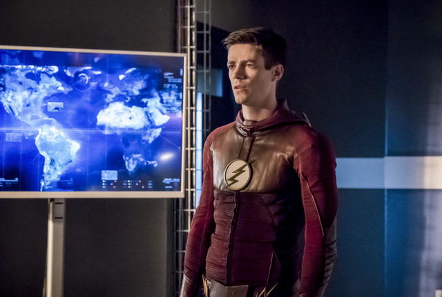The Flash Finish Line - Barry