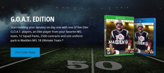 Tom Brady Madden NFL 18 - Football