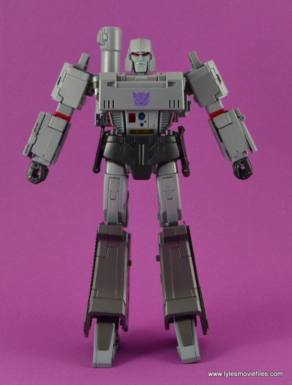 Transformers Masterpiece Megatron figure review -front