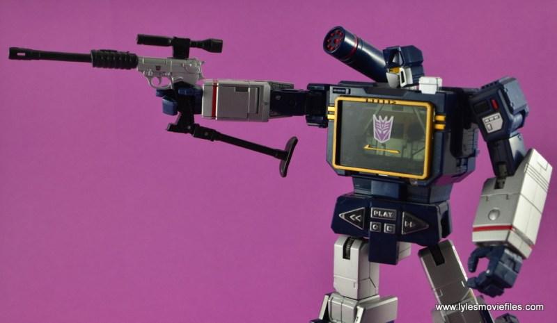 Transformers Masterpiece Megatron figure review -in gun transformation mode