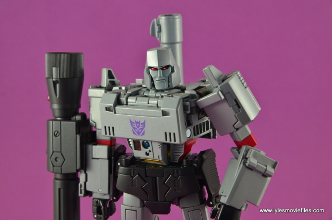 Transformers Masterpiece Megatron figure review -main pic
