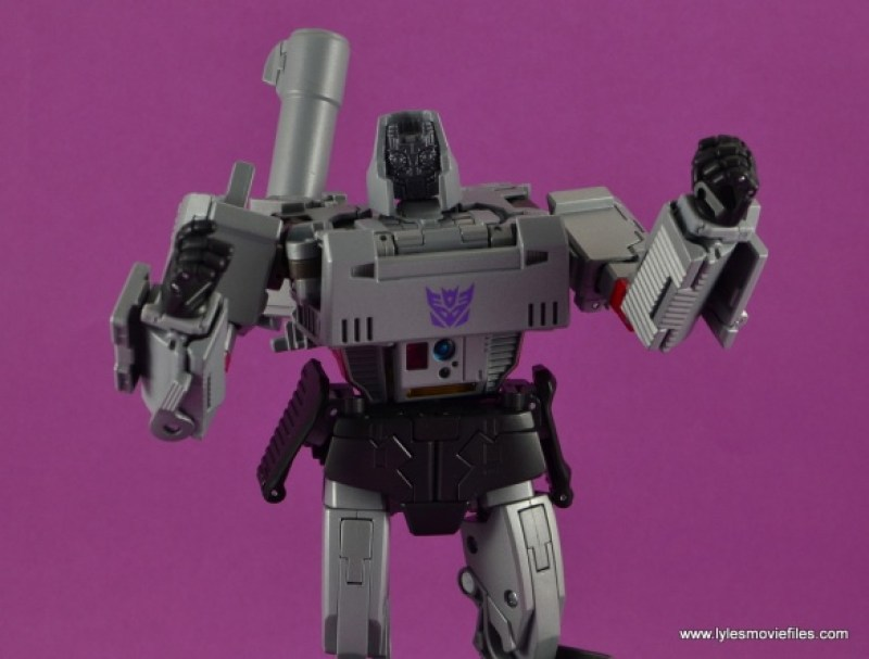 Transformers Masterpiece Megatron figure review - no faceplates