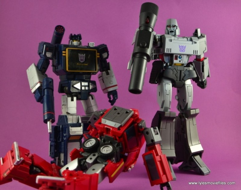 Transformers Masterpiece Megatron figure review -such heroic nonsense