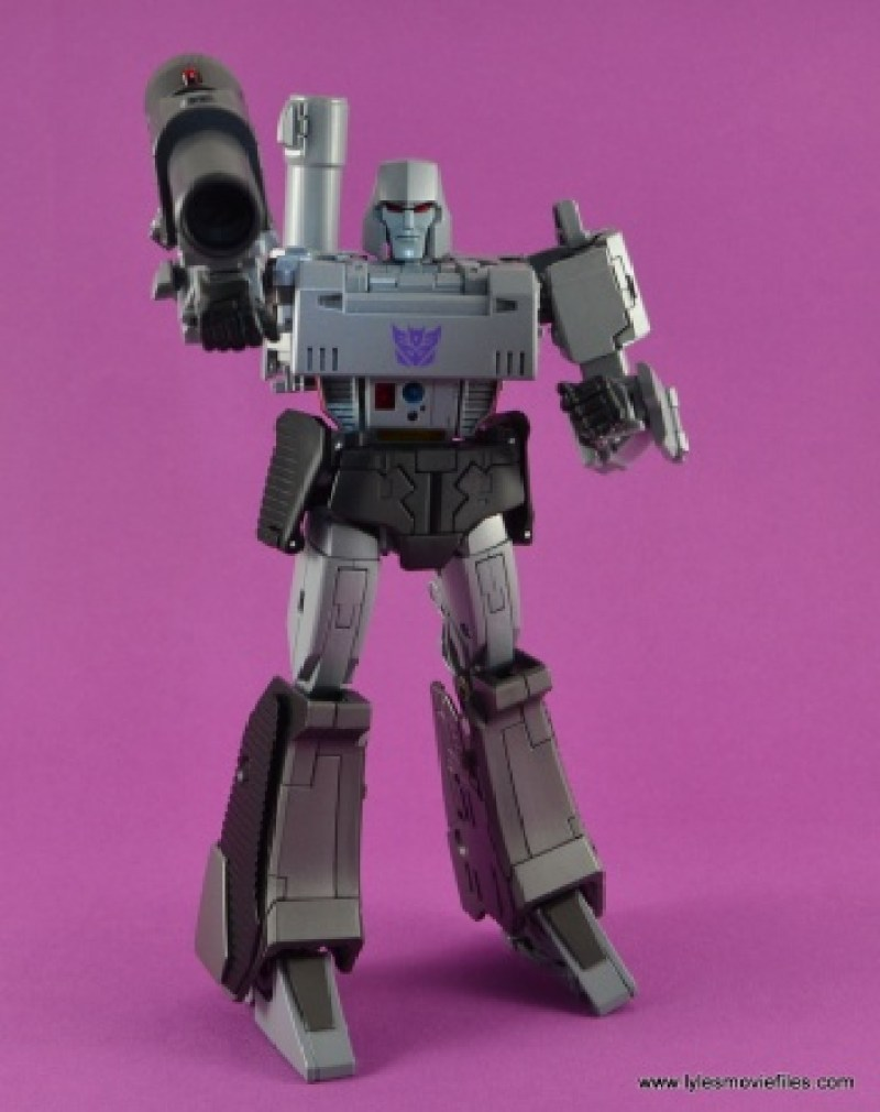 Transformers Masterpiece Megatron figure review -taking aim