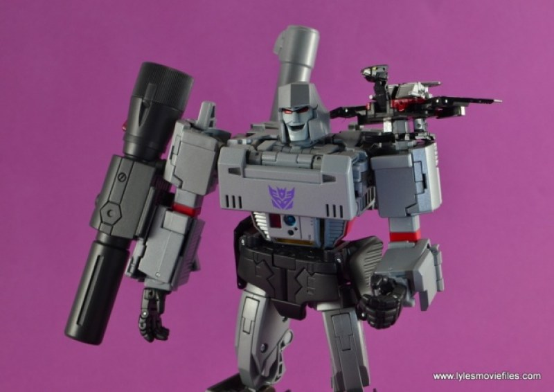Transformers Masterpiece Megatron figure review -with Laserbeak