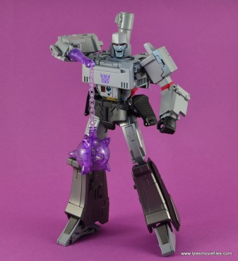 Transformers Masterpiece Megatron figure review -with mace