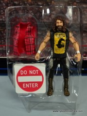 WWE Elite 48 Cactus Jack figure review -in tray