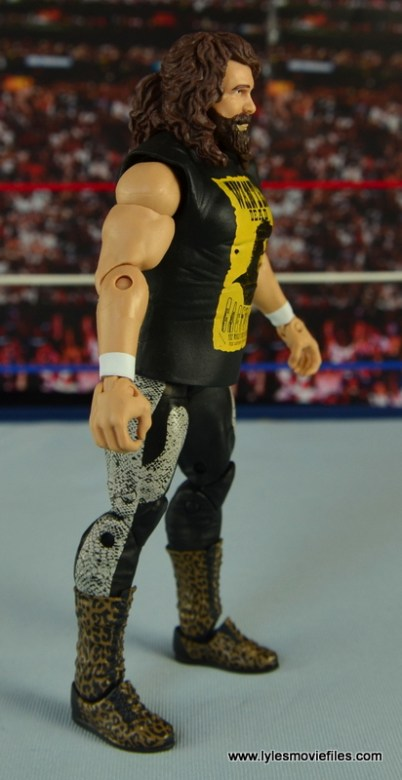 WWE Elite 48 Cactus Jack figure review -right side