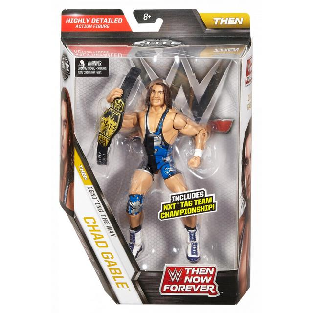 WWE TNF Series 3 Chad Gable - front package
