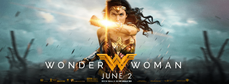 Wonder Woman giveaway poster