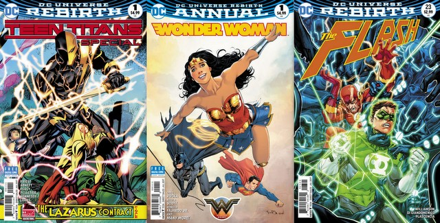 DC Comics reviews 5/31/17