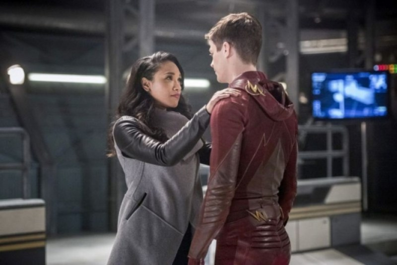 the-flash-infantino-street-Iris and Barry