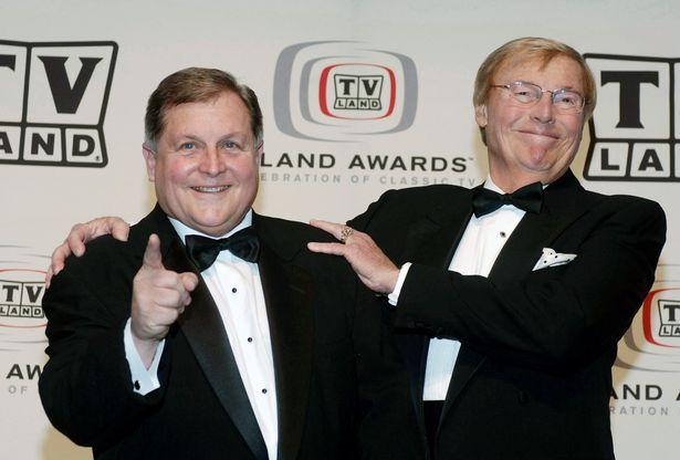 Adam West and Burt Ward