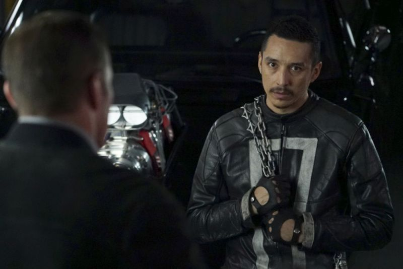 Agents of SHIELD World's End - Coulson and Robbie Reyes