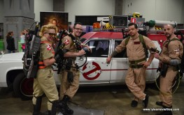 Awesome Con 2017 Day 2 cosplay - Ghostbusters with car