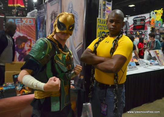 Awesome Con 2017 Day 2 cosplay -Iron Fist and Luke Cage