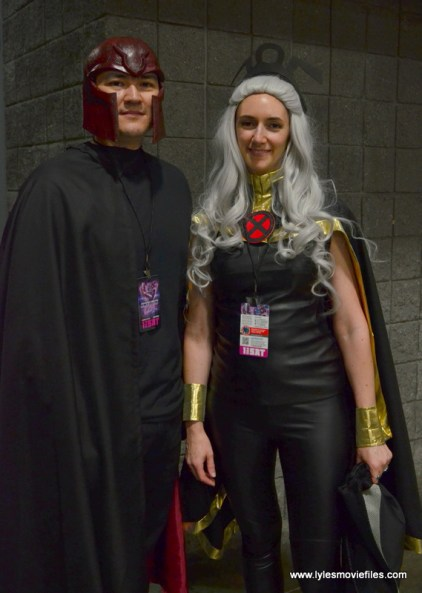 Awesome Con 2017 Day 2 cosplay - Magneto and Storm