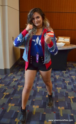 Awesome Con 2017 Day 2 cosplay - Miss America