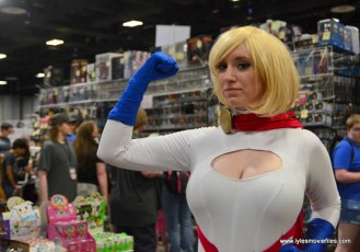 Awesome Con 2017 Day 2 cosplay - Power Girl