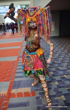 Awesome Con 2017 Day 2 cosplay - Tiger Lily 2