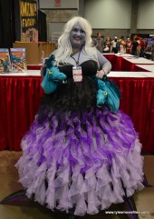 Awesome Con 2017 Day 2 cosplay -Ursula