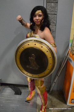 Awesome Con 2017 Day 2 cosplay - Wonder Woman with shield