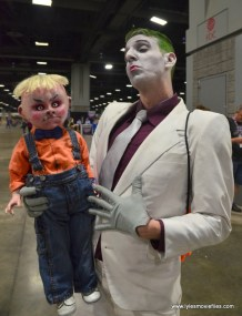 Awesome Con 2017 cosplay Friday -The Dark Knight Returns Joker