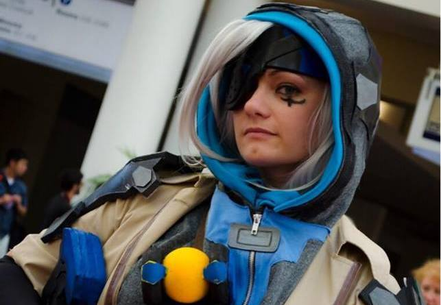 Canary Cry Cosplay as Ana from Overwatch - Copy