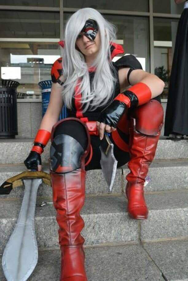 Canary Cry Cosplay as Ravager 2
