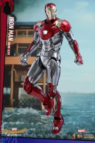 Hot Toys Iron Man Mark 47 figure - hovering