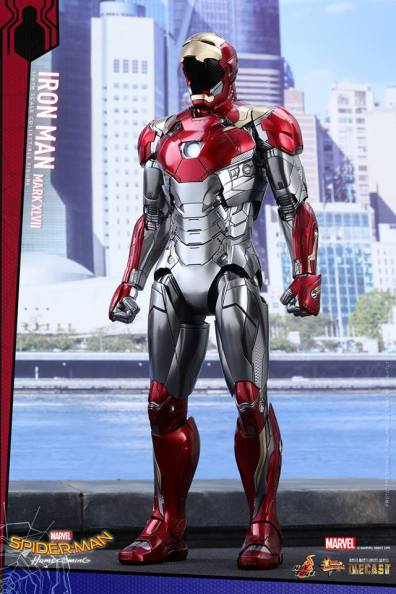 Hot Toys Iron Man Mark 47 figure - out of armor