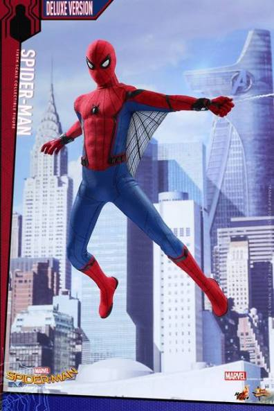 Hot Toys Spider-Man Homecoming figure - cover homage