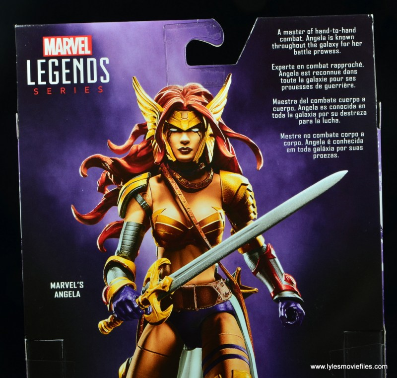 Marvel Legends Angela figure review -bio