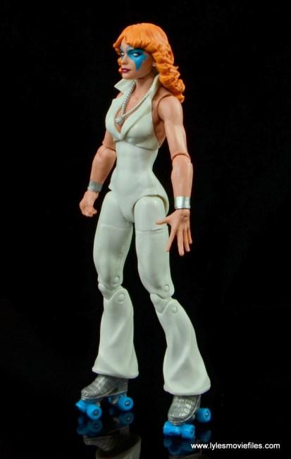 Marvel Legends Dazzler figure review -left side