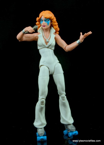 Marvel Legends Dazzler figure review -singing