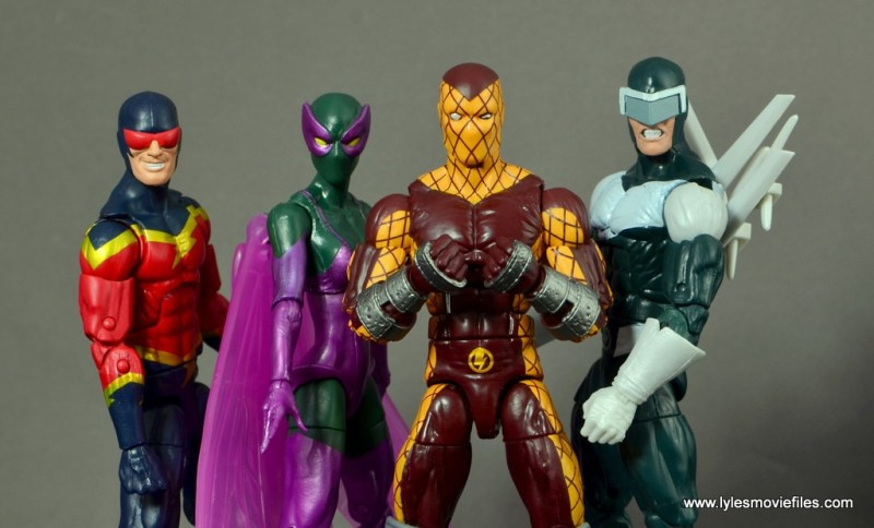 Marvel Legends Shocker figure review - Superior Foes of Spider-Man - Speed Demon, Beetle and Boomerang