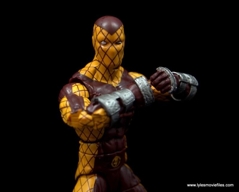 Marvel Legends Shocker figure review - charging up