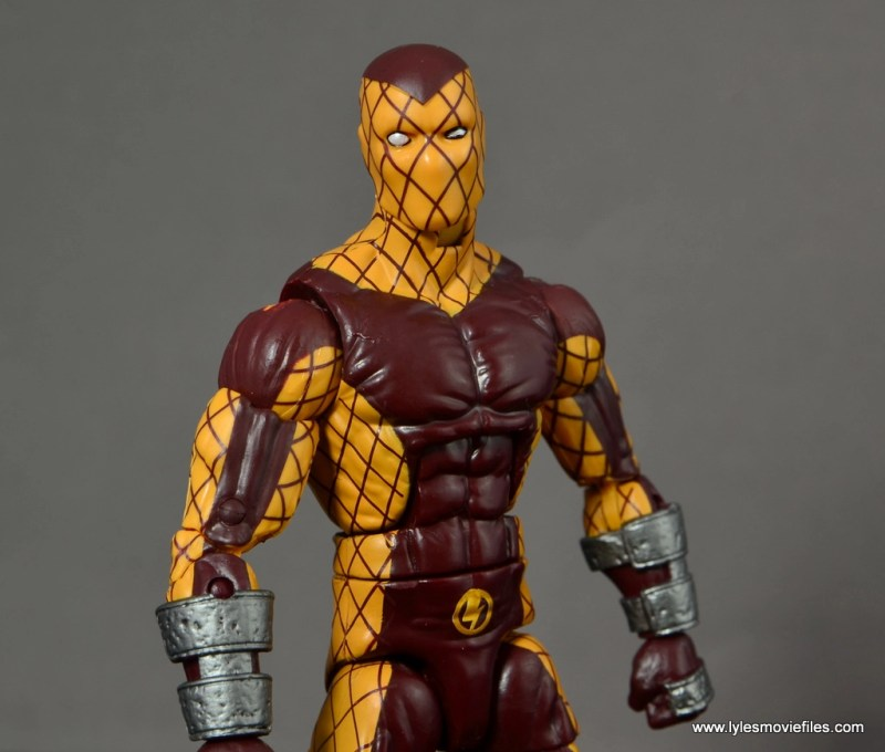 Marvel Legends Shocker figure review - close up