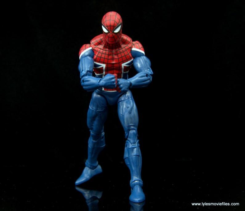 Marvel Legends Spider-Man UK figure review - flexing