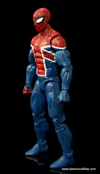 Marvel Legends Spider-Man UK figure review - left side