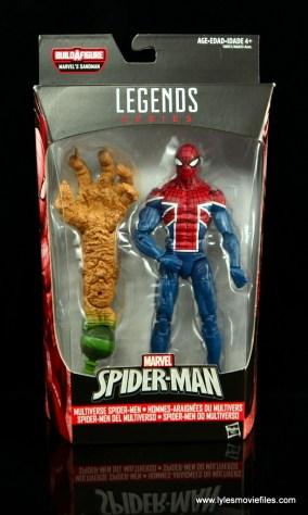 Marvel Legends Spider-Man UK figure review - package front