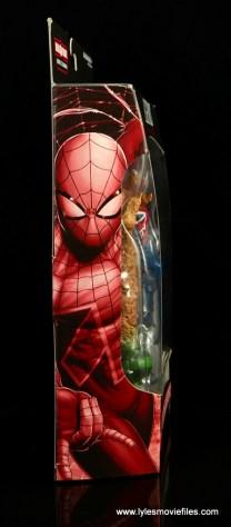 Marvel Legends Spider-Man UK figure review - package side