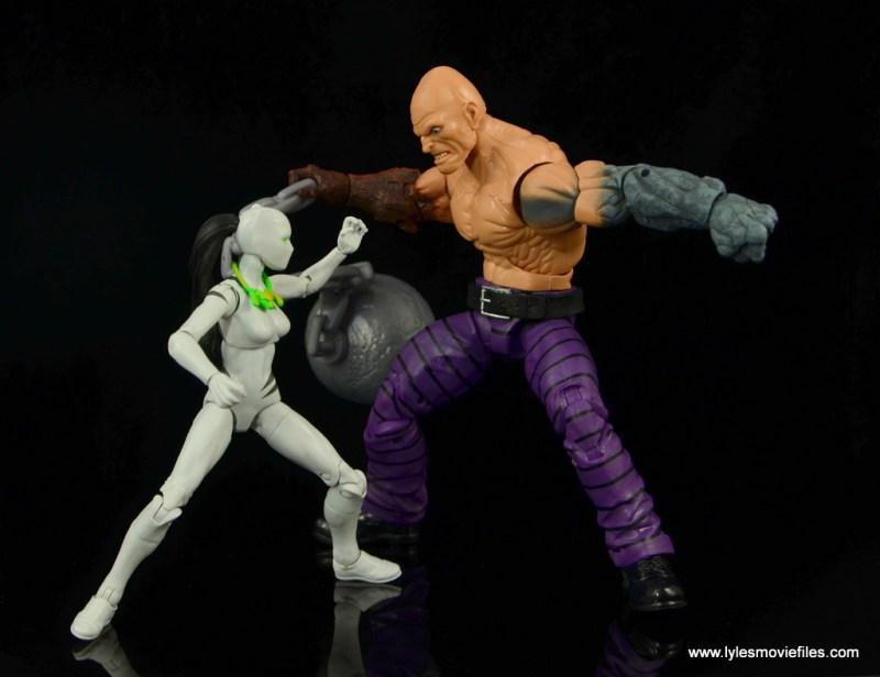 Marvel Legends White Tiger figure review - vs Absorbing Man
