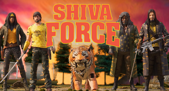 SDCC 2017 exclusive Shiva Force The Walking Dead