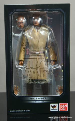 SH Figuarts Mace Windu figure review - package front