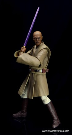 SH Figuarts Mace Windu figure review - ready for battle
